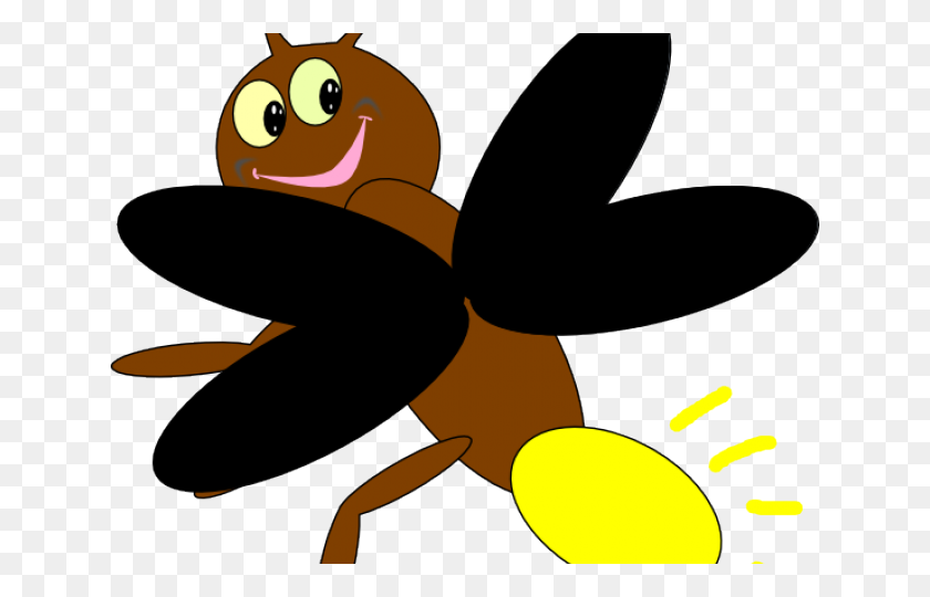 Firefly Clipart - Cute Bug Clipart