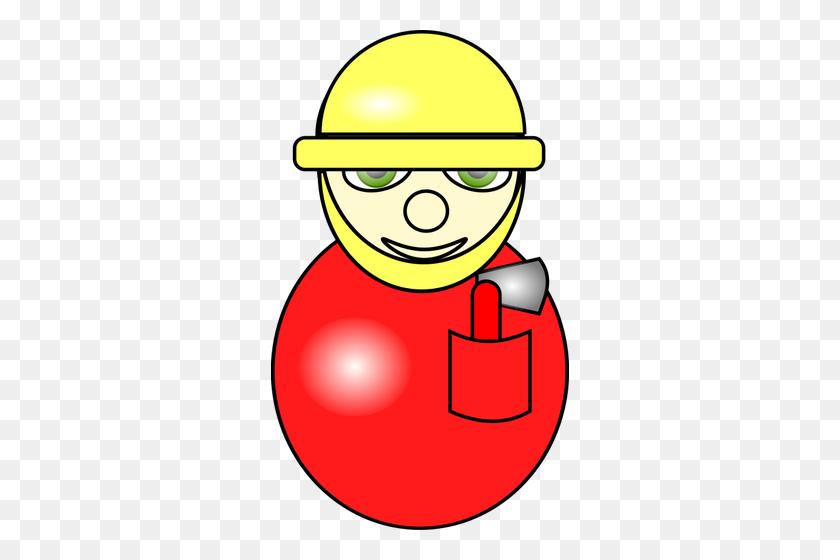 Fireman Cartoon Image - Fireman Hat Clipart