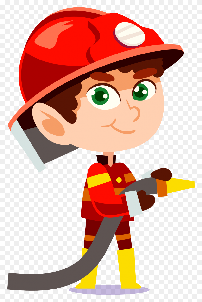 Fireman Clipart Figther, Fireman Figther Transparent Free - Protection Clipart
