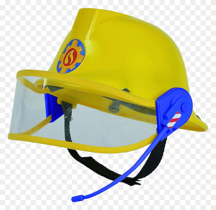 Fireman Sam Rescue Helmet With Microphone And Visor - Vietnam Helmet
