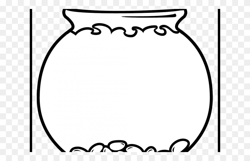 Fish Bowl Clipart Glass Bowl - Fish Bowl PNG