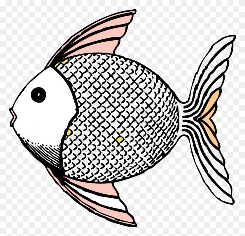 Fish Clip Art Black And White - Dr Seuss Fish Clipart