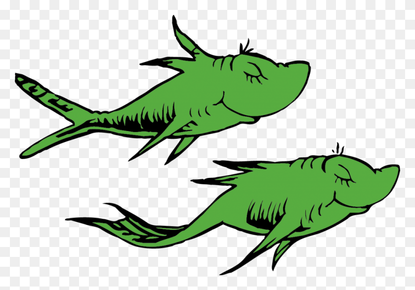 Fish Clipart Dr Seuss - Seuss Clipart