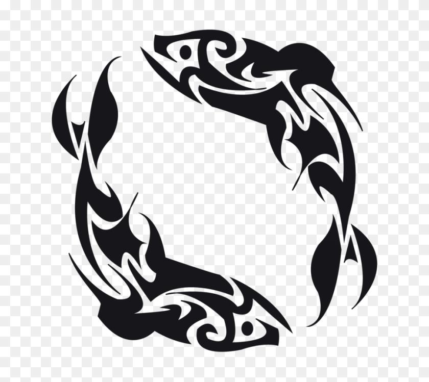 Fish Tattoos Png Transparent Fish Tattoos Images - Tribal Tattoo PNG