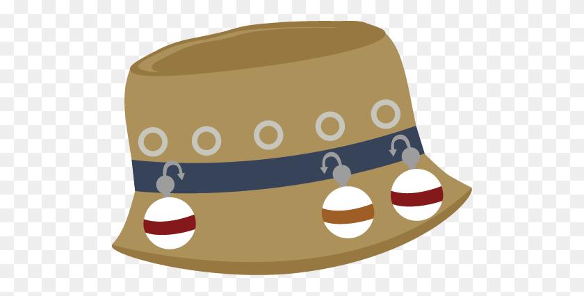 Fishing Hat For Scrapbooking Fishing Fishing - Gone Fishing Clipart