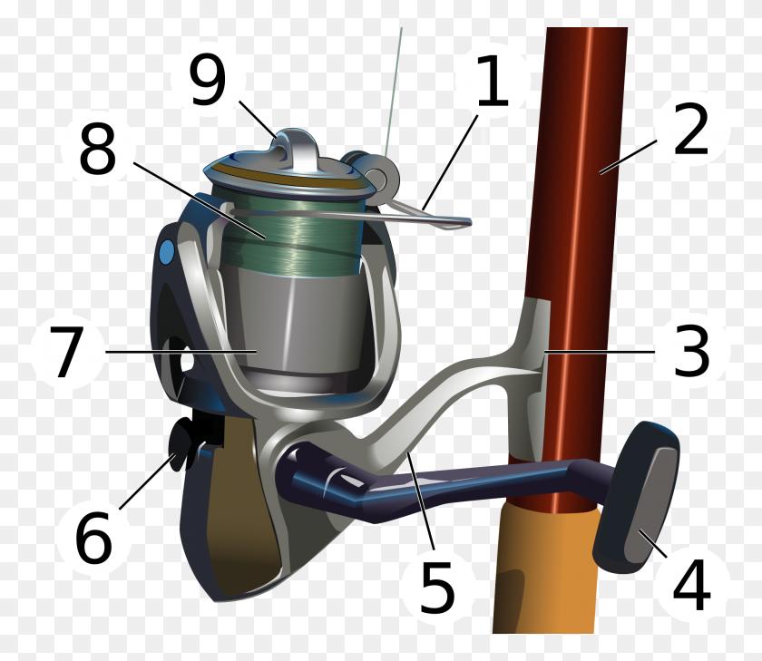 Fishing Reel - Fishing Reel Clipart