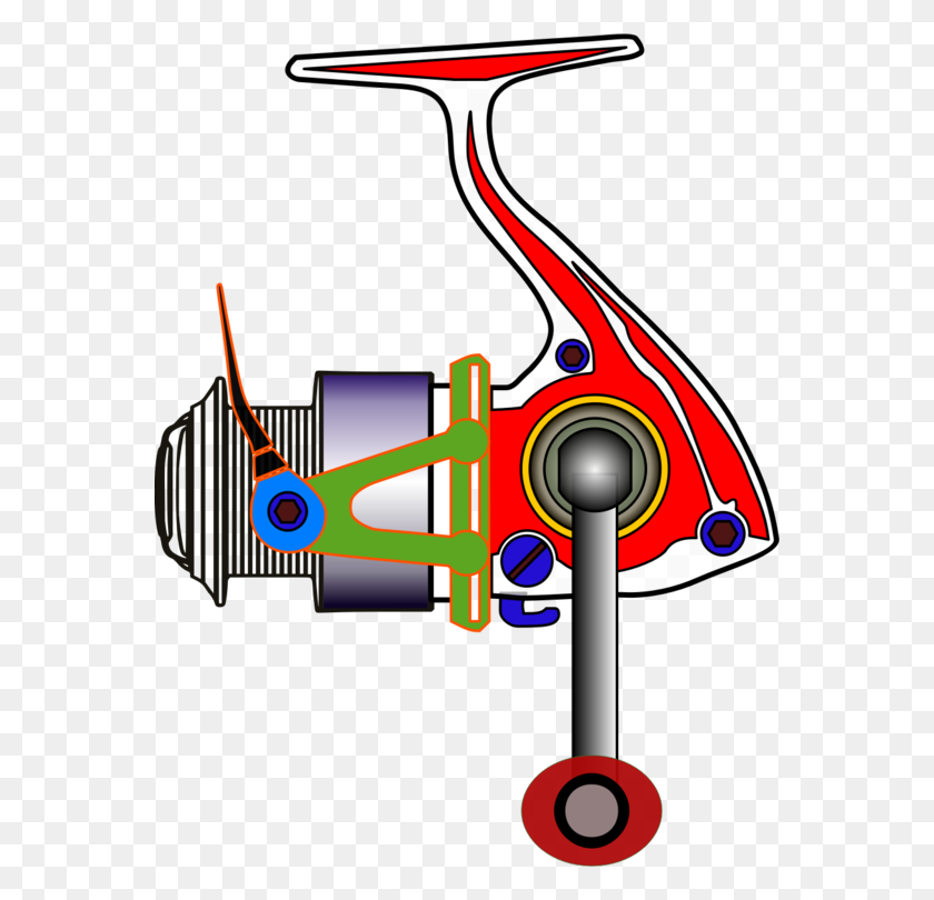 Fishing Reels Spin Fishing Fishing Rods Fishing Baits Lures Free - Rod And Reel Clipart