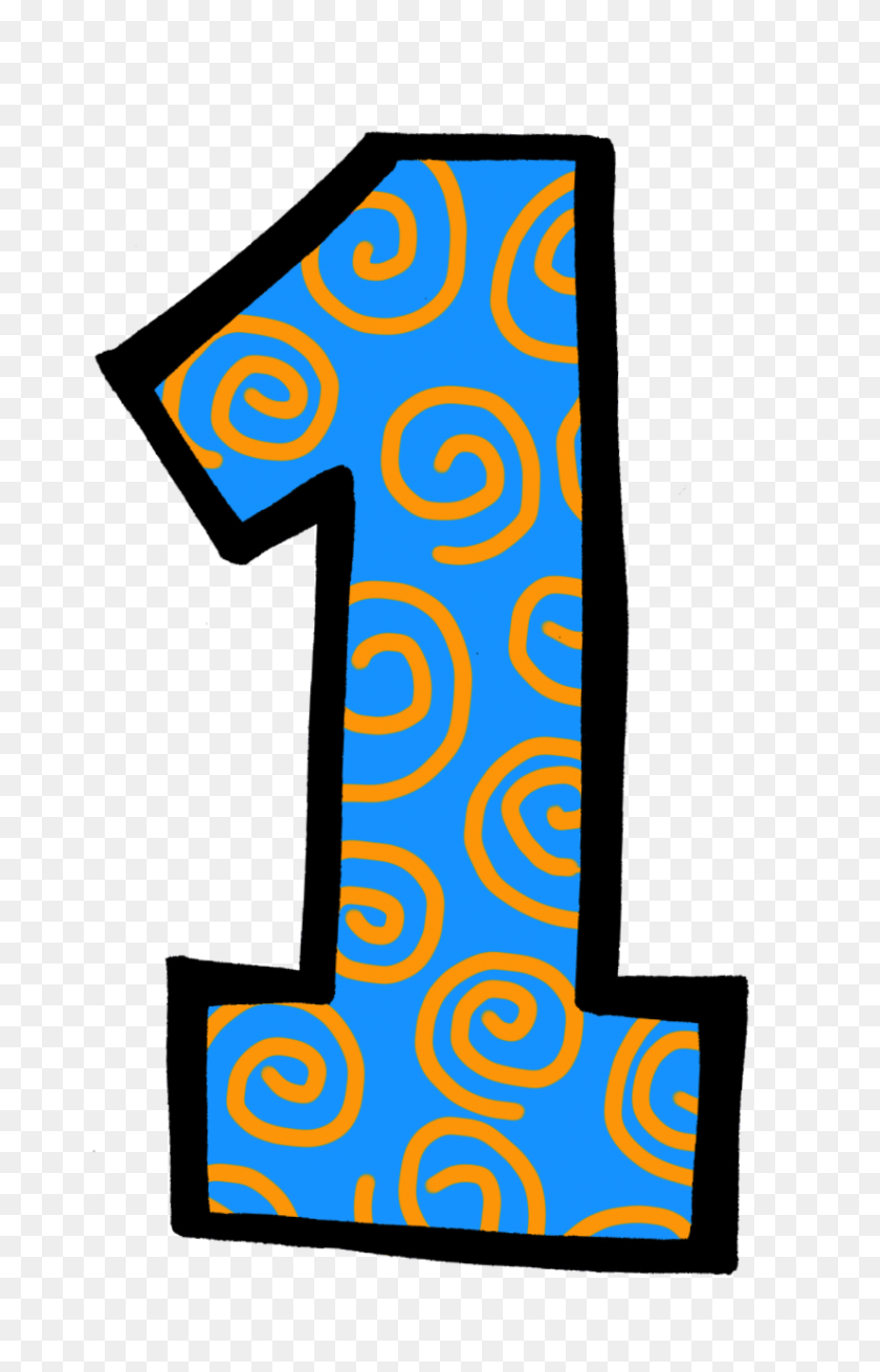 Five Clipart Individual Number - Number 3 Clipart