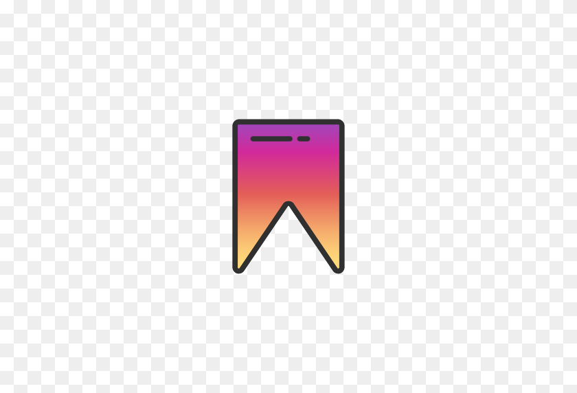 512x512 Flag, Instagram, Save, Tag Icon - Tag PNG
