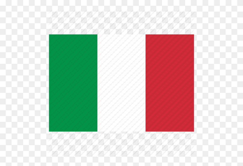 Flag Of Italy, Italy, Italy's Flag, Italy's Square Flag Icon - Italy Flag PNG