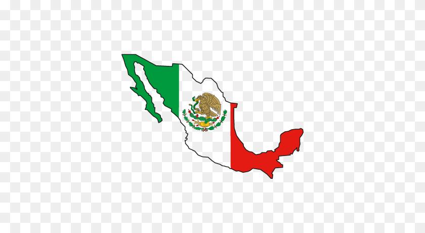 Flag Of Mexico Vector Download Free Vector - Bandera Mexico PNG