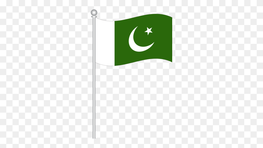 Flag Of Pakistan Clipart - Indian Flag Clipart