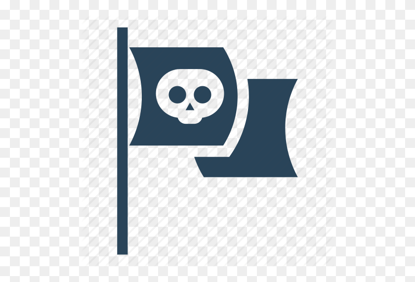 Flag, Pirate, Pirate Boat, Pirate Flag, Pirates, Sea, Ship Icon - Pirate Flag PNG