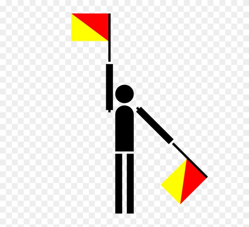 Flag Semaphore International Maritime Signal Flags International - Morse Code Clipart
