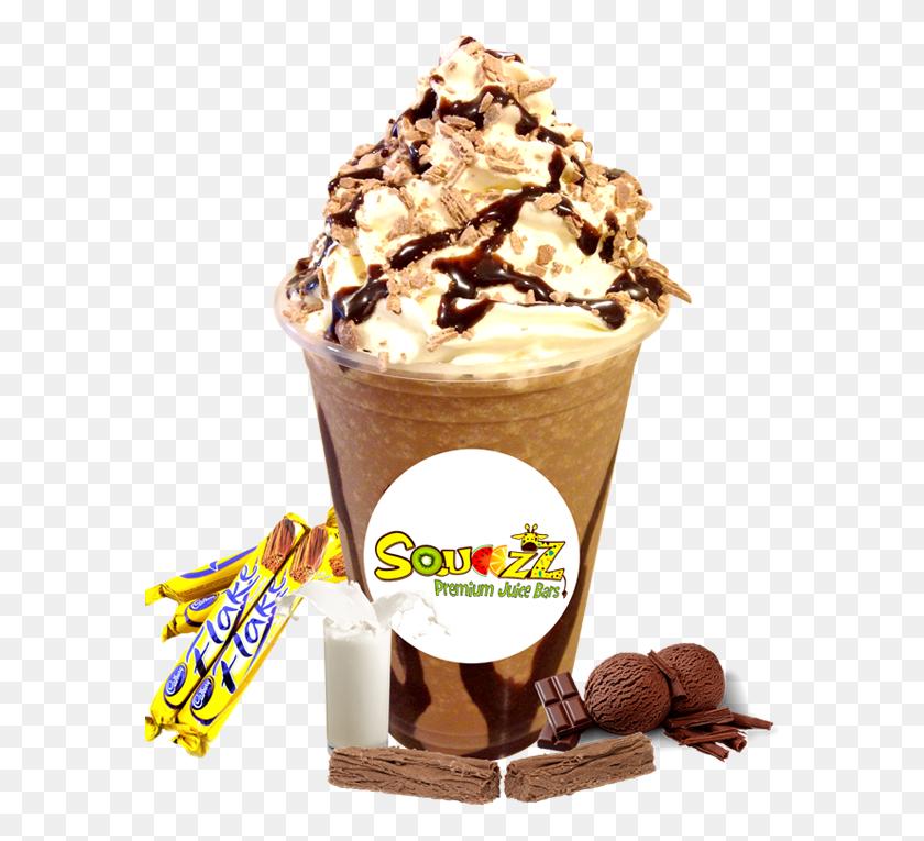 Flake Milkshake - Milkshake PNG