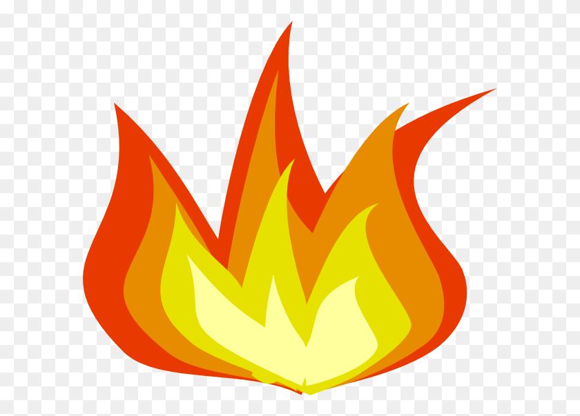 Flames Clip Art - Red Flames PNG
