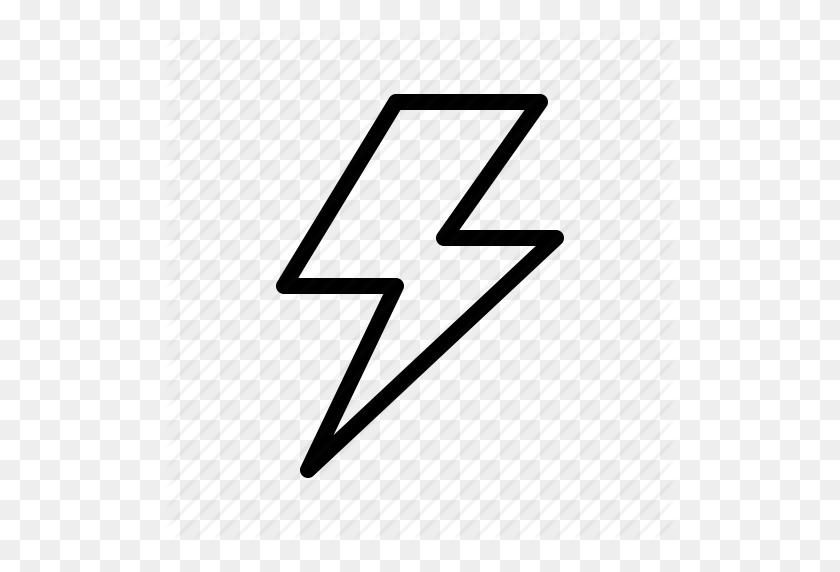 Flash, Forecast, Light, Lightning, Thunder, Weather Icon - Light Flash PNG