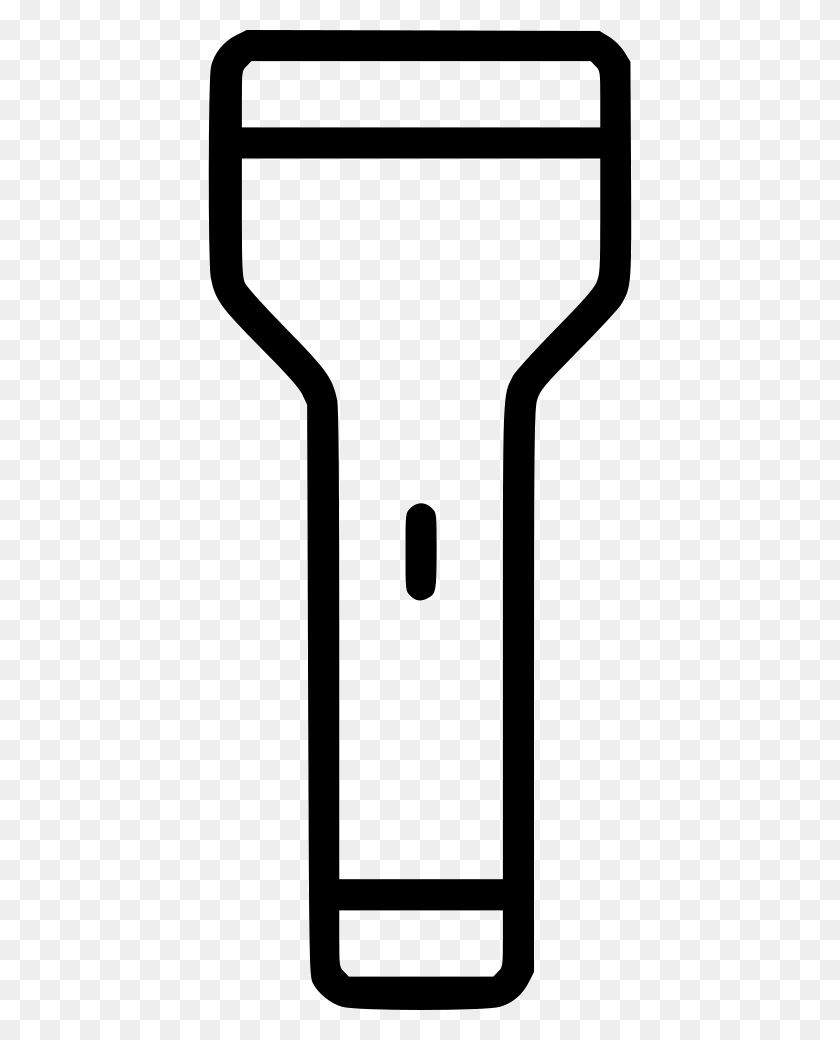 Flashlight Flash Light Bulb Electric Battery Png Icon Free - Light Flash PNG