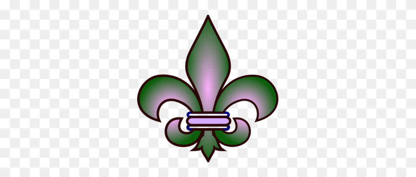Fleur De Lis Clip Art - Fleur De Lis Clip Art