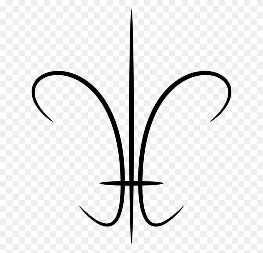638x750 Fleur De Lis Drawing Symbol Flower Lilium - Free Fleur De Lis Clip Art