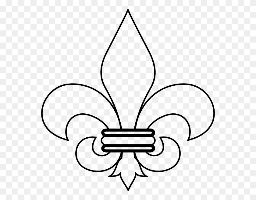 Fleur De Lis Fleur Di Lis Clip Art - All Saints Clipart