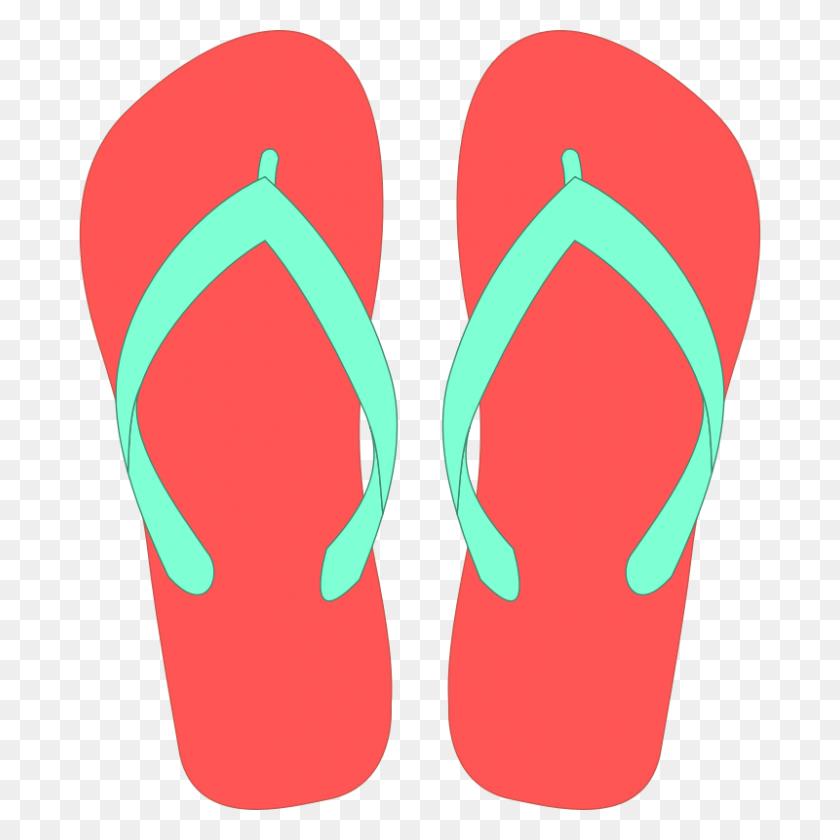 Flip Flops Clipart Free Download Clip Art - Flip Flops Clipart Black And White