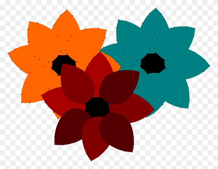 Floral Design Download Flower Petal Art - Flower Petal Clipart