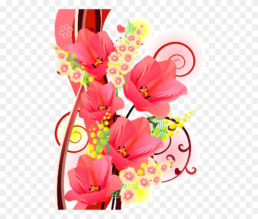 Flores Flores Flowers, Flower And Grandkids - Watercolour Clipart