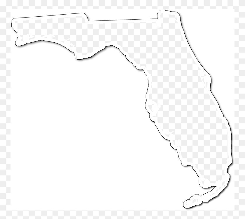 Florida Fancy Frame Style Maps In Styles - Fancy Borders PNG