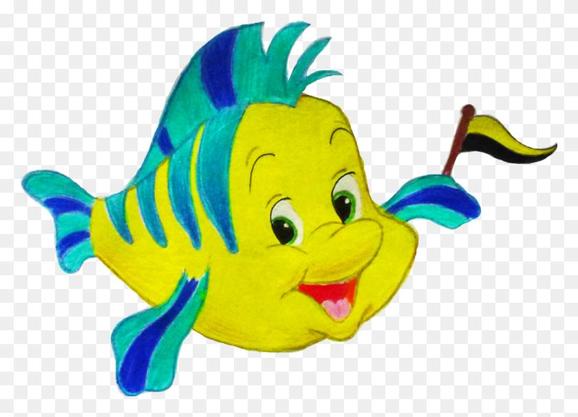 Flounder Hufflepuff - Flounder PNG