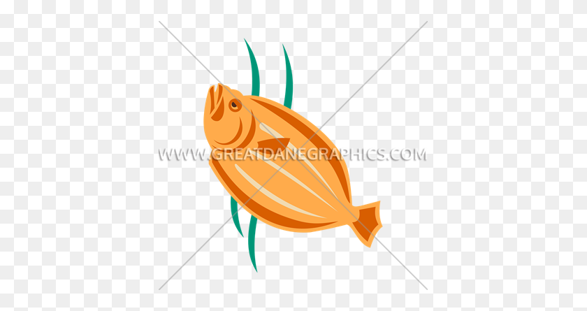 Flounder Production Ready Artwork For T Shirt Printing - Flounder PNG