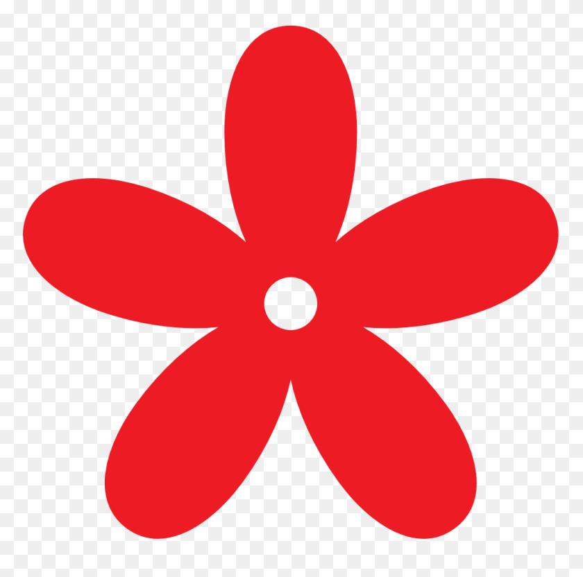 Flower Banner Clip Art - Simple Banner Clipart