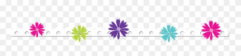 Flower Border Free Butterfly Borders Clip Art Floral Butterfly - Purple Flower Border Clipart