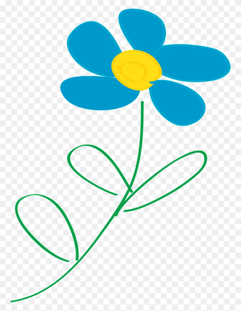 768x1023 Flower Clip Art Free - S Clipart