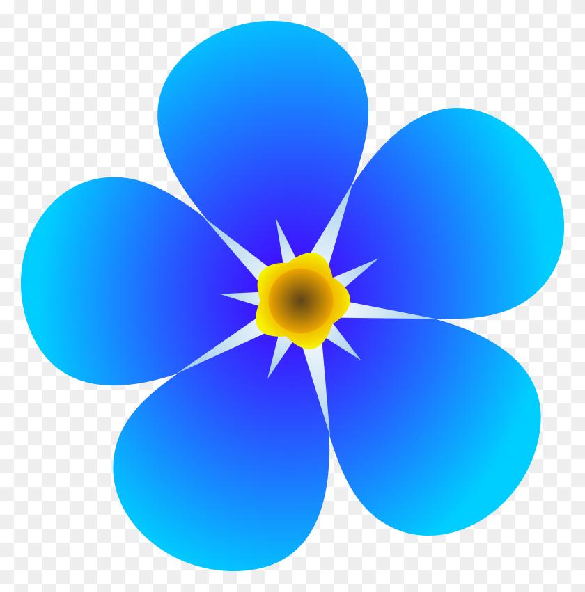 5874x5959 Flower Clip Art Free - Free Flower Border Clipart
