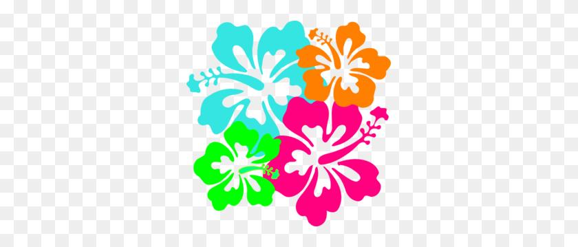 Flower Clip Art Hawaiian - Moana Flower Clipart