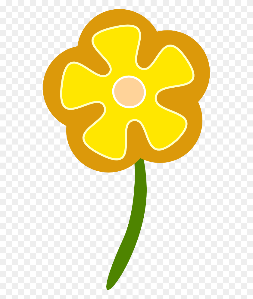 Flower Clipart Daisy - Nile River Clipart