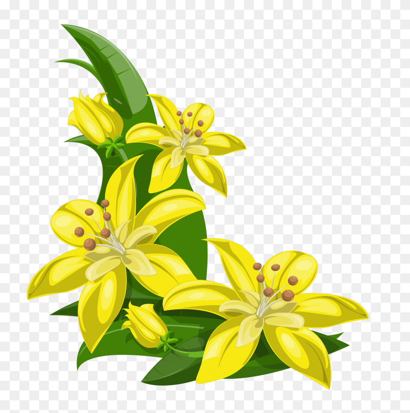 Flower Decorations Clipart Clip Art Images - Rustic Flower Clipart