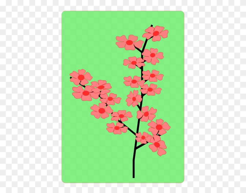 Flower, Flowers, Sakura Png Clip Arts For Web - Sakura Flower Clipart