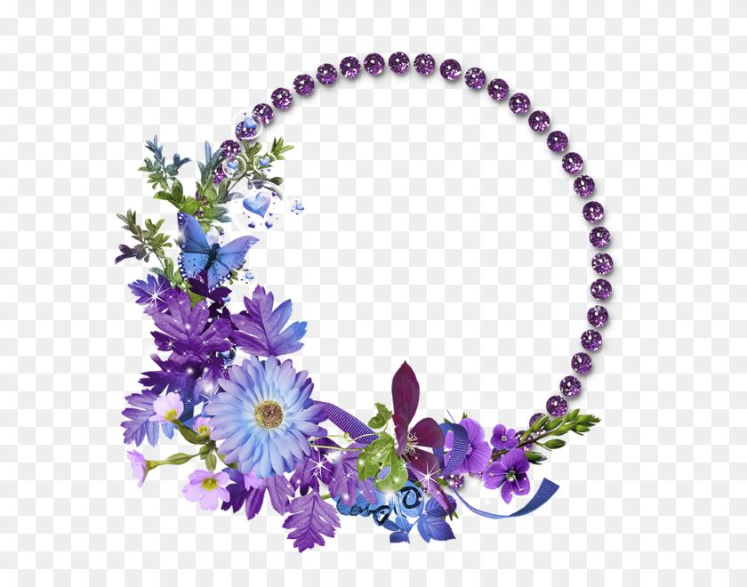Flower Frame Transparent Background Png - Flower Background PNG