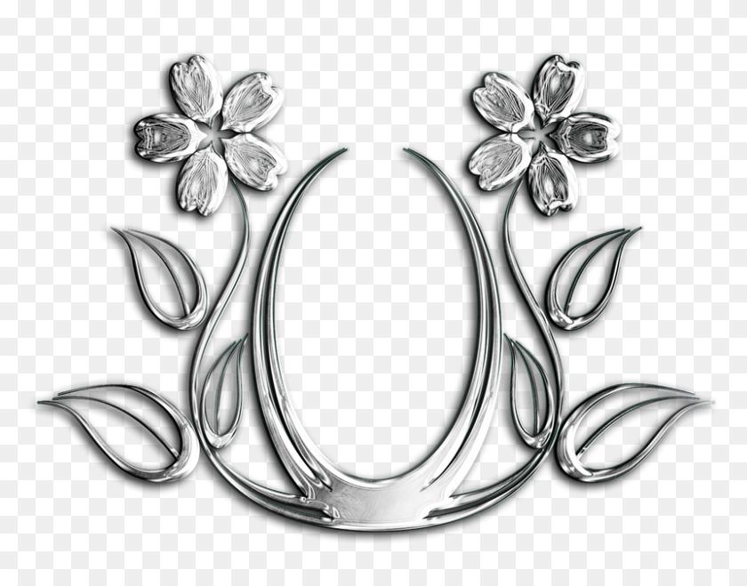 Flower, Metal, Flourish, Texture, Graphic, Decorative - Metal Texture PNG