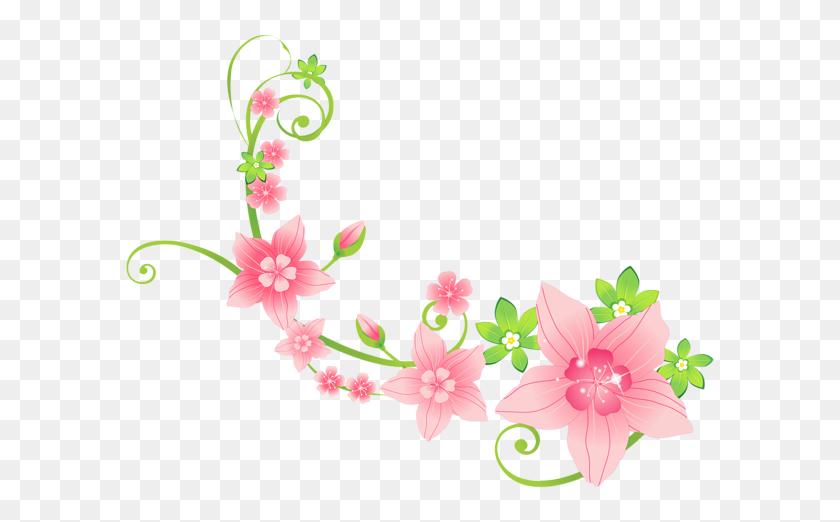 Flowers Art, Flowers And Art - Burgundy Flowers Clipart