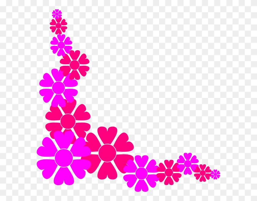 Flowers Border Clipart Nice Clip Art - Pretty Border Clipart