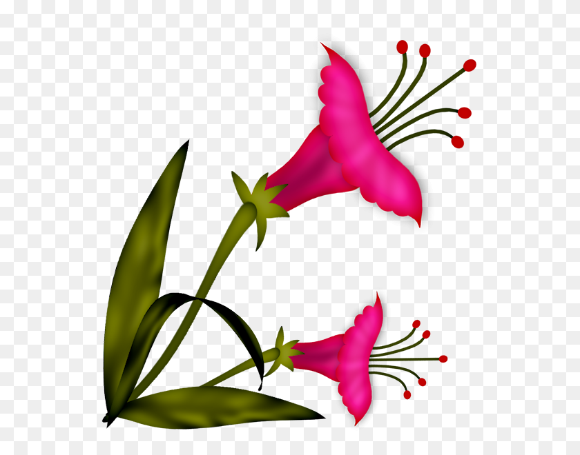 600x600 Flowers Flowers, Flower - Flower Stem Clipart