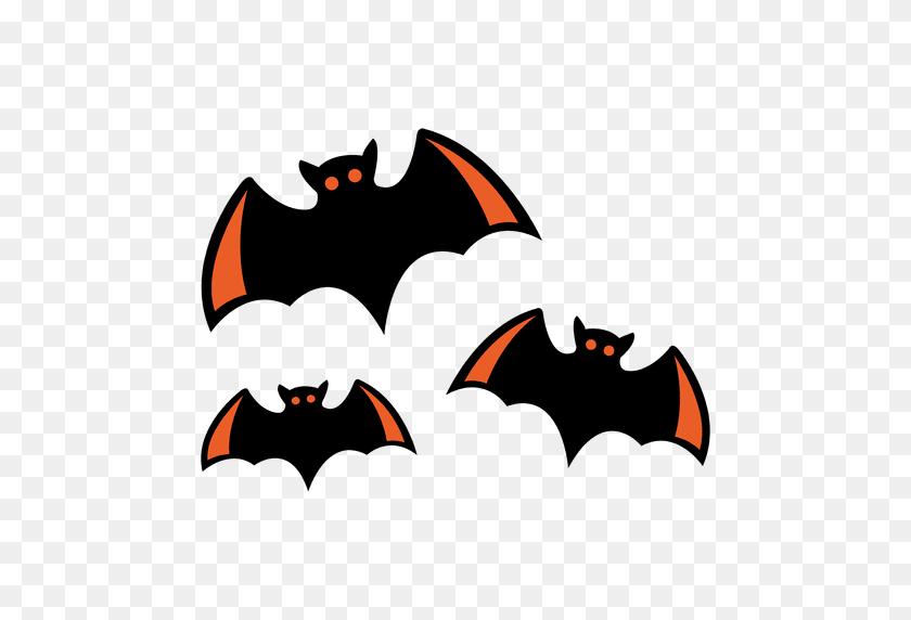 Flying Bats Cartoon - Bats PNG