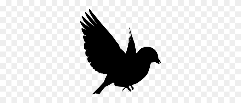 Flying Bird Silhouette Clip Art Free - Birds Silhouette PNG