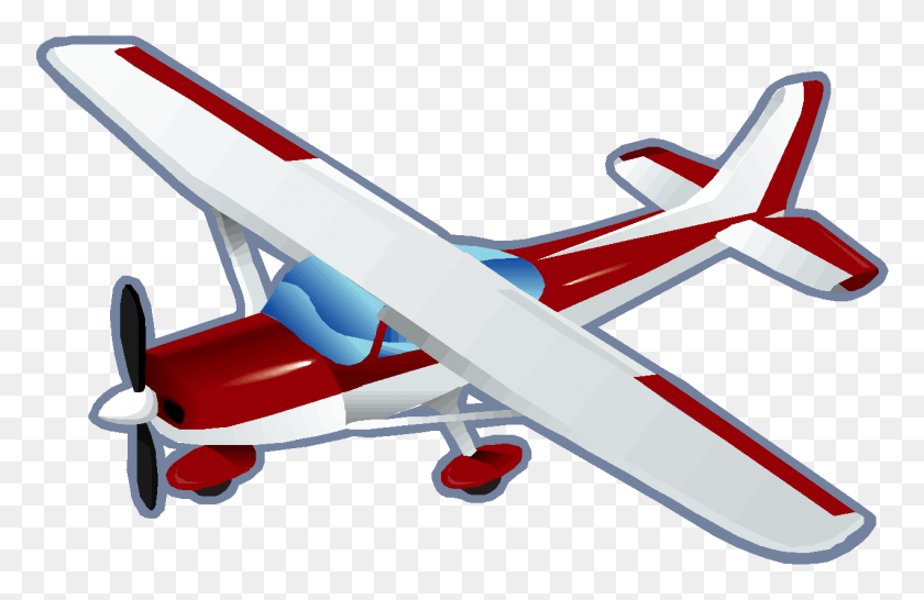 Flying Clipart Small Airplane - Manatee Clip Art
