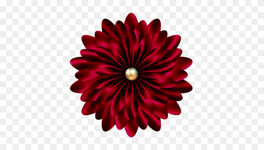 Fm Raggedy Element Flowers, Scrapbooking Flowers - Black Flowers PNG