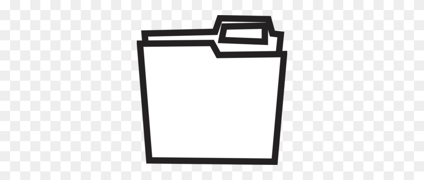 Folder Clipart Black And White Clip Art Images - Paper Clipart Black And White