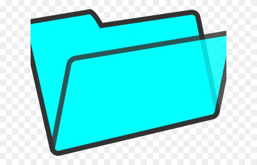 Folder Clipart Blue Folder - Blue Folder Clipart